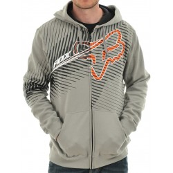 SUDADERA FOX COLLATERAL GRIS