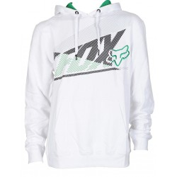 SUDADERA FOX FORECASTER BLANCO
